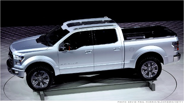 New Ford F150 >> The New Ford Aluminum F 150 To Improve Mpg Fleet