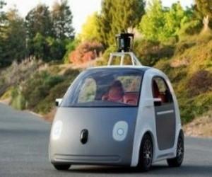Google protype self driving car
