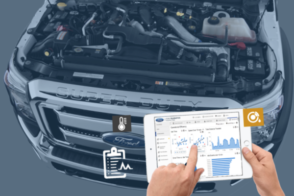 ford telematics maintenance connect enables ford commercial