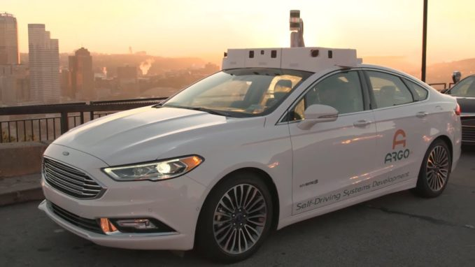 Argo Ai Self Driving Test Car Involved In Crash Fleet
